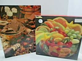 2 Springbok Jigsaw Puzzles  500 Pieces 3 Cheers for  Chocolate & Fruit - $25.74