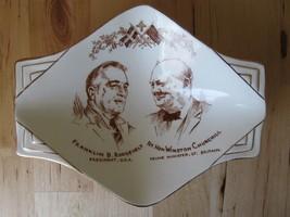 Vintage Royal Winton Roosevelt & Churchill WW2 Grimwades England Collect... - $69.95