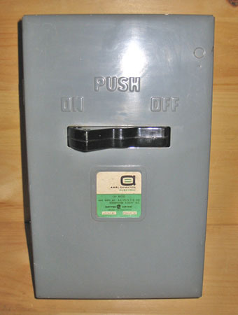 Aec 60a 240v switch a