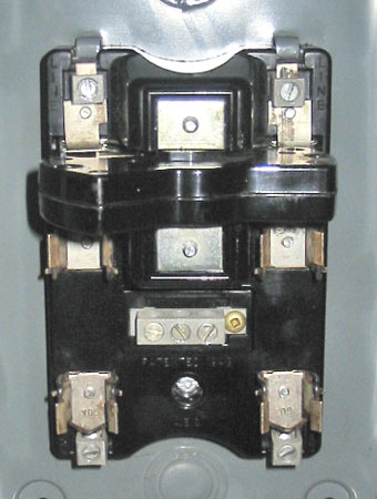 AEC 60 AMP, 240 VOLT, 1 PHASE FUSED DISCONNECT SWITCH (C/N: 86322) ~ RARE!