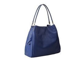 Coach Madison Small Phoebe Shoulder Bag 26224 (Silver/Lacquer Blue) [App... - £253.22 GBP