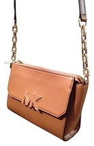Michael Kors Florence Mini Messenger Bag Luggage - £174.35 GBP