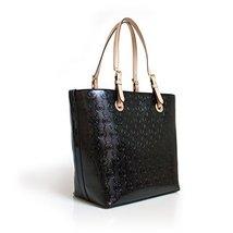 Michael Kors Jet Set Item Grab Bag Leather Mono... - $276.21
