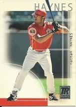 2002 Topps Reserve Nathan Haynes 60 Angels - $1.00
