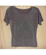 Grey Slinky 'Muscle' Shirt-S/M - $10.00