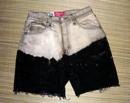 Faded Glory Ombre Black and Taupe Highrise Cutoffs sz.16 - $10.00