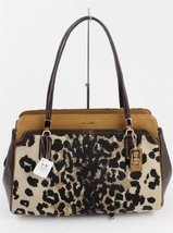 Coach Kimberly Carryall in Ocelot [Apparel] - $320.76