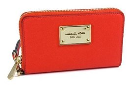 Michael Kors Mandarin Saffiano Leather Multifunction Phone Case - $117.81