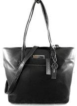 Dkny Gansevoort Leather Satchel Tote Black [Apparel] - $350.46
