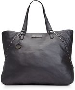 Dkny Gansevoort W/gunmetal Leather Handbag [Apparel] - $350.46