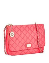 Dkny Quilted Flap Crossbody Bag with Chain Handles Popsicle Pink - $226.71