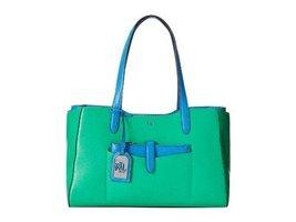 Ralph Lauren Davenport Shopper-Peppermint/French Blue [Accessory] - $216.81
