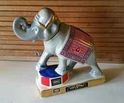 Circus Circus Casino Elephant Decanter by Ezra Brooks - $12.00