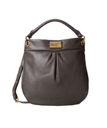 NWT MARC by MARC JACOBS Classic Q Hillier Hobo Bag - FADED ALUMINUM Perf... - £300.46 GBP