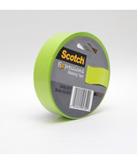 "Decorative Masking Tape Scotch Expressions Lemon Lime Green .94"" x 20 yd... - $2.88"