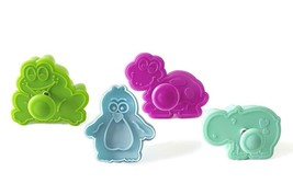 Silikomart Cookie Cutters with Spring Ejection Feature Mini Funny Animals Set 4 - $5.10