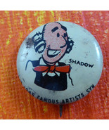 SHADOW - PEP premium pin/pinback/button Kellogg's Cereal 1945  #2 - $9.89