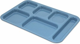Carlisle 4398992 Right-Hand Heavy Weight Compartment Caf Tray, Sandshade - $33.06