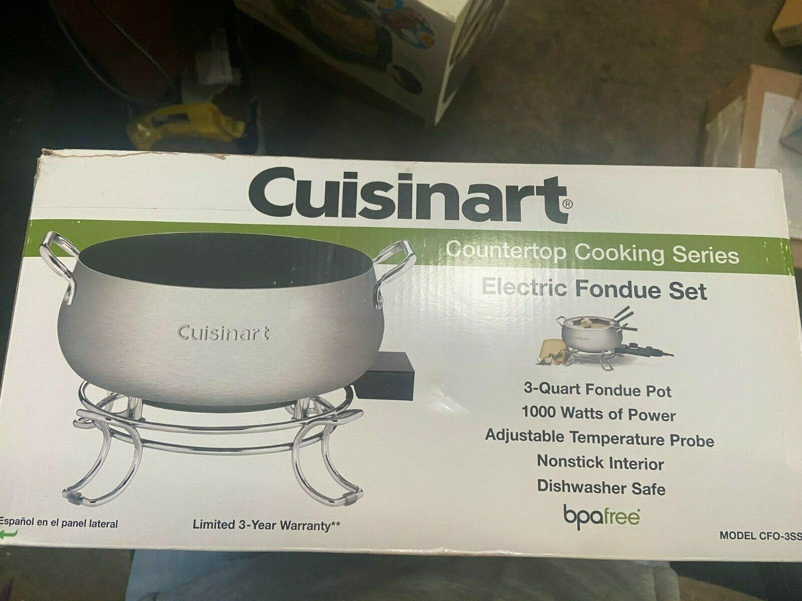 Cuisinart CFO-3SS Electric Fondue Set - $60.38