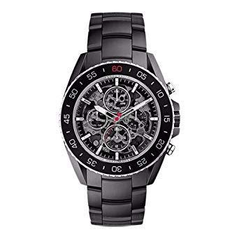 Michael Kors MK9012 Jet-Master Black Skeleton Dial Men's Watch