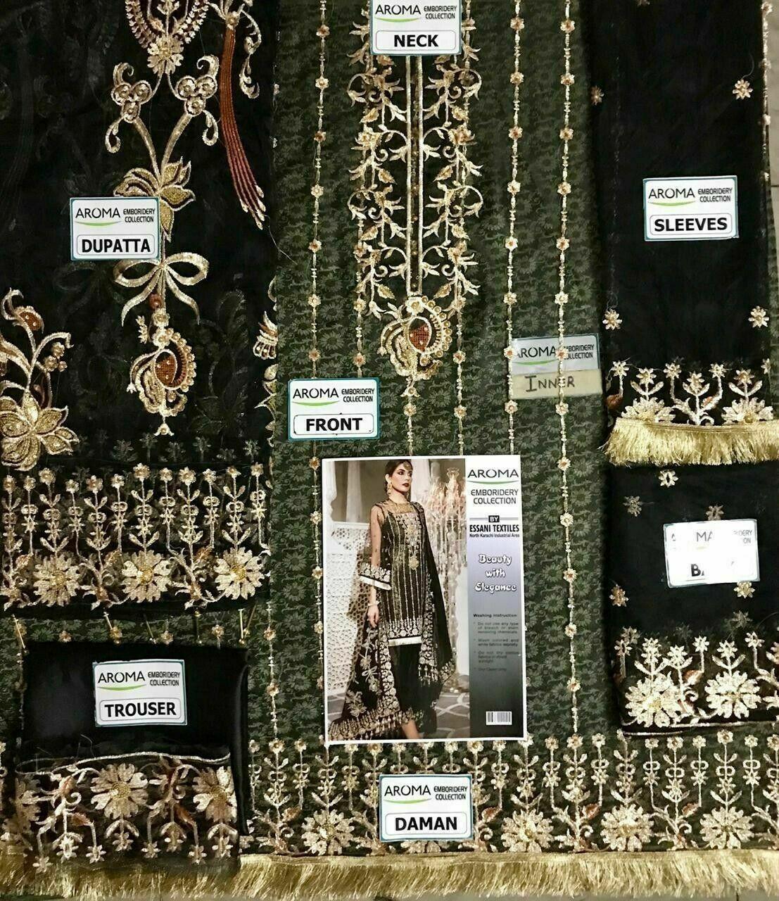 STITCHED DRESS PAKISTANI/INDIAN SHALWAR KAMEEZ NET SUIT KHAADI MARIA B ASIM JOFA image 2