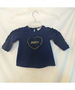 Juicy Couture 18 Months Navy Blue Shirt - $8.60