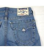True Religion Denim Jeans Section Straight Seat 30  W 32 x L 33.5 - $42.95