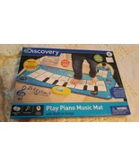 Discovery Play Piano Music Mat Built-in Song Library Ages 3+ NEW IN BOX - $9.89