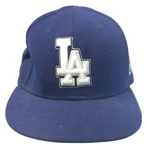 New Era 59Fifty Los Angeles Dodgers Fitted Baseball Hat 7 3/8 Royal Blue... - $14.69