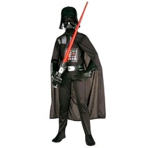 Star Wars Costume Darth Vader Halloween Party Cosplay Costumes Kids Fanc... - $28.49