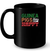Funny Guinea Pigs Make Me Happy Graphic Ceramic Mug Gift - $13.99+