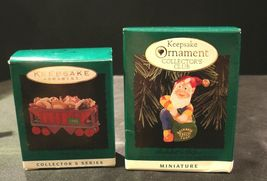 Hallmark Handcrafted Ornaments AA-191774B Collectible ( 2 pieces ) image 3