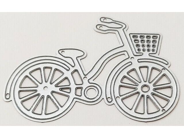 Bicycle with Basket Die