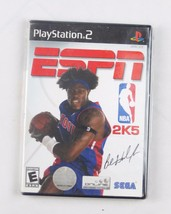 Sony PlayStation 2 ESPN NBA 2K5 game complete SEGA sports basketball 2005 - $15.35