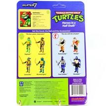 Super7 Teenage Mutant Ninja Turtles TMNT Raphael w Sai ReAction Reissue Figure image 2