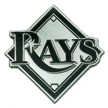Fanmats MLB Tampa Bay Rays Diecast 3D Chrome Emblem Car Truck RV 2-4 Day Del. - $14.84