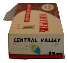 "Central Valley HO scale ""Old Timers"" 36' box car, Colorado Midland, truss rod."