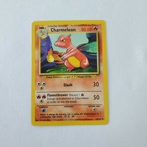 Pokemon Base Set 1999 Charmeleon Card LP 24/102 TCG Trading Card Game Unlimited - $1.99