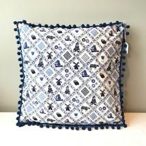 Dutch Heritage pillow cover 'Delft blue' - $35.00