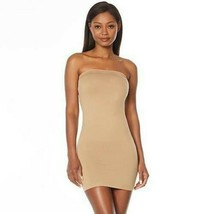 Nearly Nude Seamless Smoothing Strapless Dress-Nude- S/M -NEW-663658 - $24.74