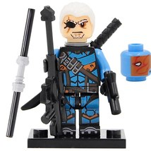 1pcs DC Deathstroke in Justice League Movie Mini figure Building Blocks ... - $1.99