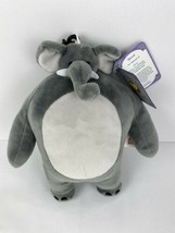 Tiny Headed Kingdom Tiny Head Elephant Little Head Big Body Plush Keycha... - $14.84