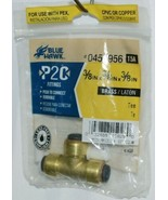 Blue Hawk 0457956 P2C Brass Fitting Tee Lead Free Removable - $9.48