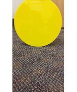 RTR_SJHTRA 1 Pieces of Yellow Acrylic Plexiglass Plastic Sheet Circle Di... - $33.66