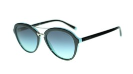 Tiffany & Co. Women's TF4157 8055/9S Black/Blue Pilot Sunglasses 55mm Au... - $183.33