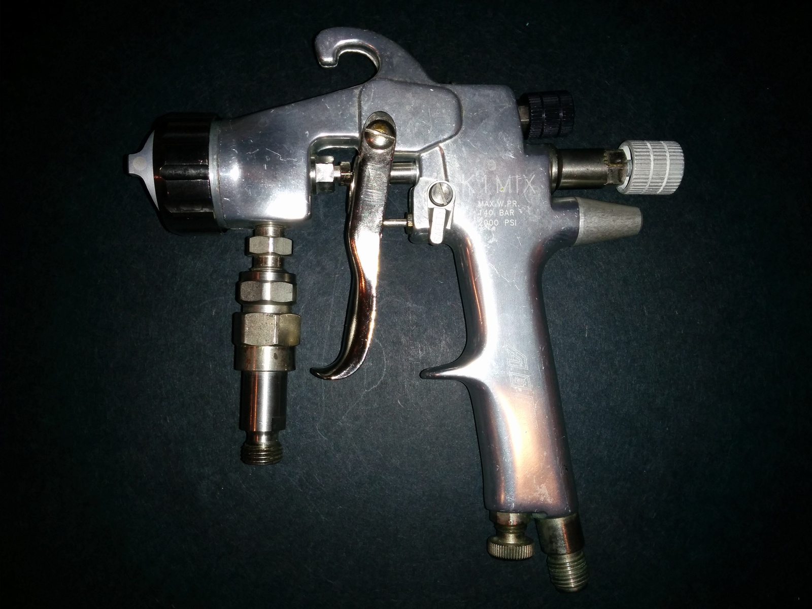 Airless Spraygun Manufacturers Mail: AOM Asturo K1 MIX Air Assisted Airless Spray Gun 25507