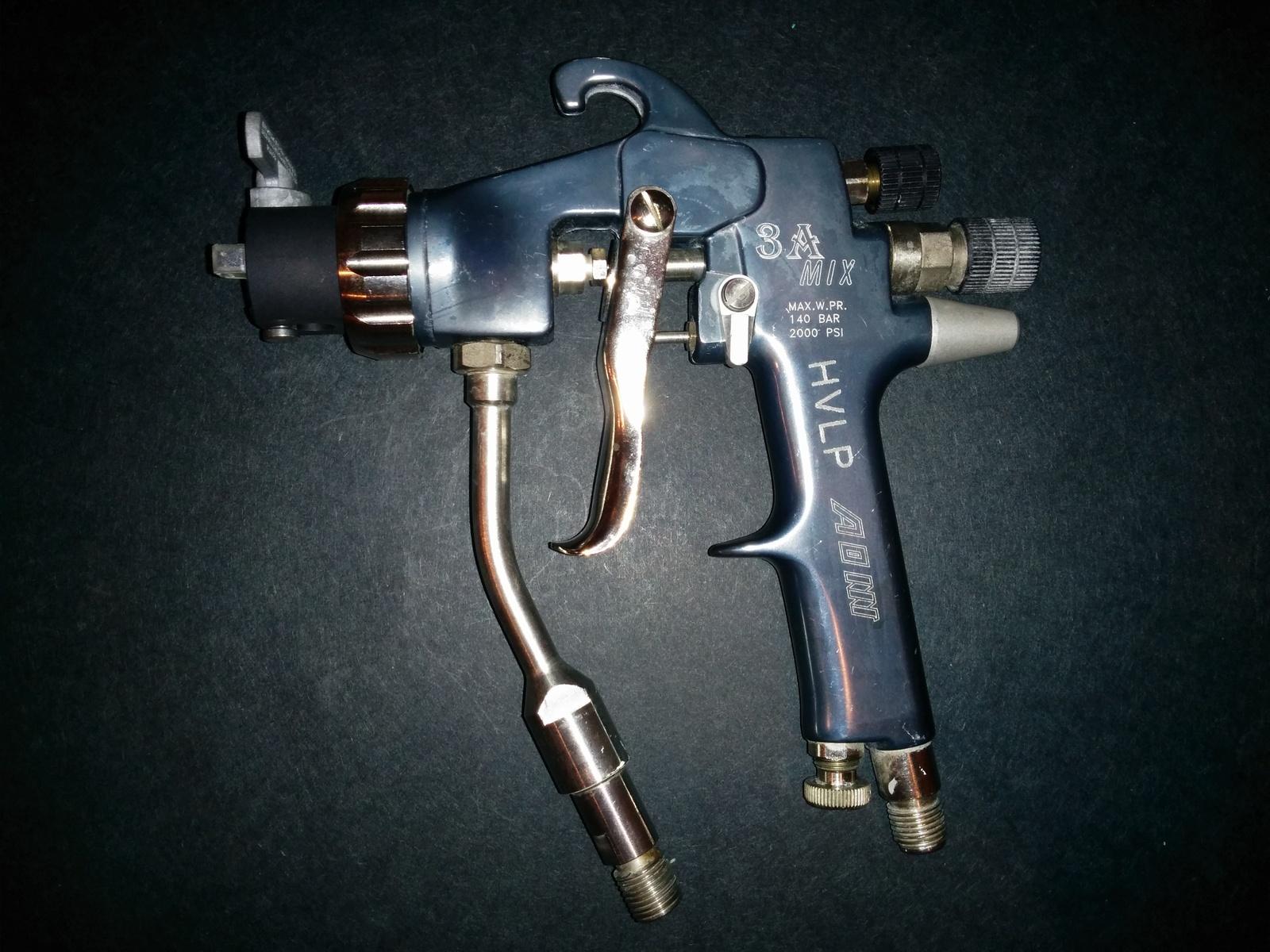 Airless Spraygun Manufacturers Mail: AOM Asturo K1 3A MIX Air Assisted Airless Spray Gun 25506