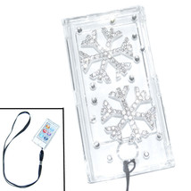 Bling ice flower Crystal Hard case for ipod Nano 7th Gen 7G + Detachable... - $7.83