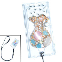 Bling vase Crystal Hard case for ipod Nano 7th Gen 7G + Detachable Strap - $8.81