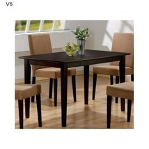 Coaster Rectangular Dining Table Wooden Cappuch... - $148.13